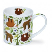 Buy the Dunoon Orkney Mug Hang Out Sloth online at smithsofloughton.com