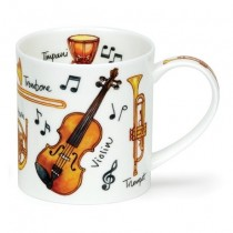 Buy the Dunoon Orkney Mug Musical Instruments online at smithsofloughton.com