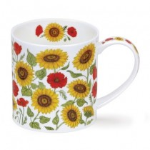 Buy the Dunoon Orkney Mug Provence Sunflower online at smithsofloughton.com