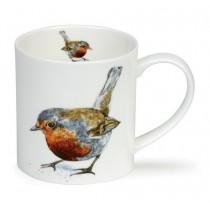 Buy the Dunoon Orkney Mug Robin 350ml online at smithsofloughton.com