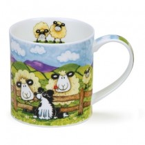 Buy the Dunoon Orkney Mug Silly Sheep Fence online at smithsofloughton.com