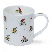 Buy the Dunoon Orkney Mug Sports Stars Cycling online at smithsofloughton.com