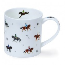 Buy the Dunoon Orkney Mug Sports Stars Equestrian online at smithsofloughton.com