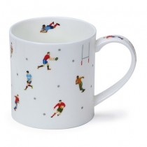 Buy the Dunoon Orkney Mug Sports Stars Rugby online at smithsofloughton.com