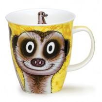 Buy the Dunoon Shaped Nevis Mug Meerkat online at smithsofloughton.com