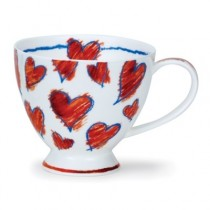 Buy the Dunoon Skye Amora Red Cup online at smithsofloughton.com