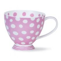 Buy the Dunoon Skye Dottie Pink Cup online at smithsofloughton.com