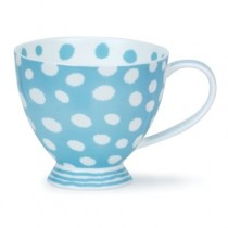 Buy the Dunoon Skye Dottie Turquoise Cup online at smithsofloughton.com