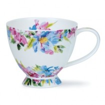 Buy the Dunoon Skye Flore Blue Cup online at smithsofloughton.com