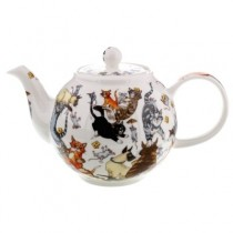Buy the Dunoon small Pussy Galore teapot online at smithsofloughton.com