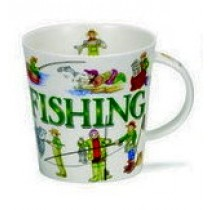Buy the Dunoon Sporting Antics Fishing Mug online at smithsofloughton.com