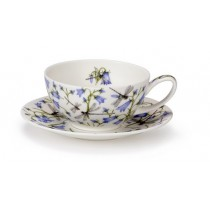 Buy the Dunoon Tea for One Cup and Saucer Dovedale Harebell online at smithsofloughton.com