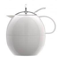 Buy the Elia Thermal White Jug Flask 1ltr online at smithsofloughton.com