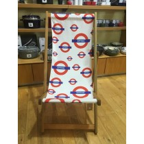 Buy the Epping Tube Station Deck Chair online at smithsofloughton.com
