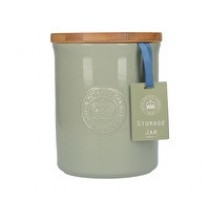 Buy the Green Kew Gardens Richmond Embossed Logo Storage Jar online at smithsofloughton.com