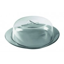 Buy the Guzzini Feeling Cake Serving Set Sky Grey online at smithsofloughton.com
