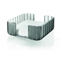 Buy the Guzzini Grace Napkin Holder Grey online at smithsofloughton.com