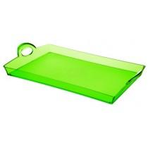 Buy the Guzzini Green Rectangular Tray online at smithsofloughton.com