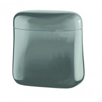 Buy the Guzzini Kitchen Canister Grey online at smithsofloughton.com