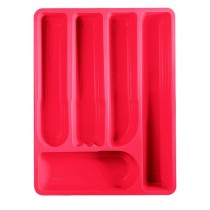Buy the Guzzini Kitchen Cutlery Tray Red online at smithsofloughton.com
