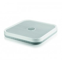 Buy the Guzzini Kitchen Drainer Grey White online at smithsofloughton.com