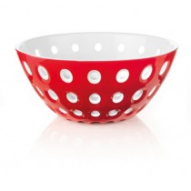 Buy the Guzzini Le Murrine Bowl 25cm Red White online at smithsofloughton.com