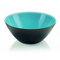 Buy the Guzzini My Fusion Bowl 20 CM Blue Black online at smithsofloughton.com