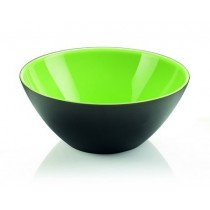 Buy the Guzzini My Fusion Bowl 20 CM Green Black online at smithsofloughton.com