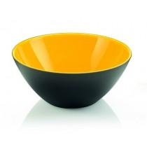Buy the Guzzini My Fusion Bowl 20 CM Yellow Black online at smithsofloughton.com