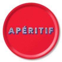 Buy the Jamida Asta Barrington Apértif Red Tray 31cm online at smithsofloughton.com