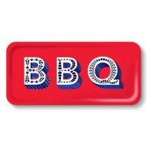 Buy the Jamida Asta Barrington BBQ Red Snack and Drinks Tray online at smithsofloughton.com