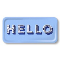 Buy the Jamida Asta Barrington Blue Hello Lap Tray online at smithsofloughton.com