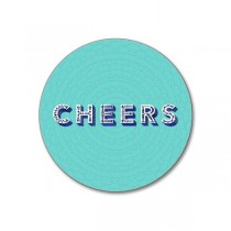 Buy the Jamida Asta Barrington Cheers Aqua Coaster online at smithsofloughton.com
