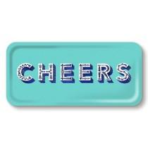 Buy the Jamida Asta Barrington Cheers Aqua Lap Tray online at smithsofloughton.com