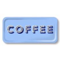 Buy the Jamida Asta Barrington Coffee Blue Snack and Drinks Tray online at smithsofloughton.com
