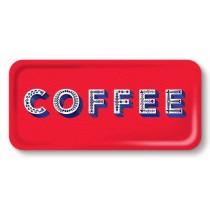 Buy the Jamida Asta Barrington Coffee Red Snack and Drinks Tray online at smithsofloughton.com