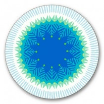 Buy the Jamida Asta Barrington Fiesta Blue Coaster online at smithsofloughton.com