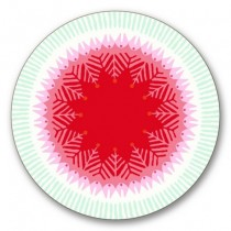Buy the Jamida Asta Barrington Fiesta Red Coaster online at smithsofloughton.com