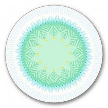 Buy the Jamida Asta Barrington Fiesta White Coaster online at smithsofloughton.com
