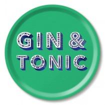 Buy the Jamida Asta Barrington Gin and Tonic Food Green Tray online at smithsofloughton.com