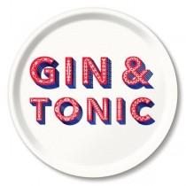 Buy the Jamida Asta Barrington Gin and Tonic Food White Tray online at smithsofloughton.com