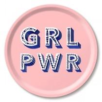 Buy the Jamida Asta Barrington Girl Power Pink Tray online at smithsofloughton.com