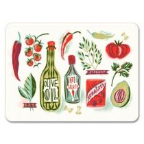 Buy the Jamida Asta Barrington Good Food Small Table Place Mat online at smithsofloughton.com