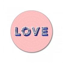 Buy the Jamida Asta Barrington Love Pink Coaster online at smithsofloughton.com