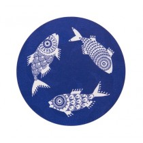 Buy the Jamida Asta Barrington Shoal of Fish Blue Trivet online at smithsofloughton.com