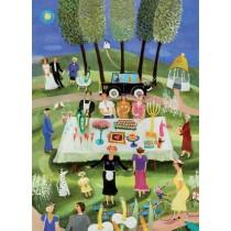 Buy the Jamida Bessie Johanson Summer Party Tea Towel online at smithsofloughton.com