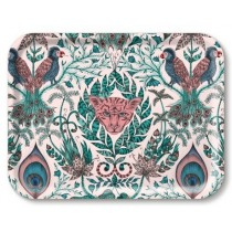 Buy the Jamida Emma J Shipley Amazon Pink Tray 27x20cm online at smithsofloughton.com