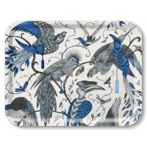 Buy the Jamida Emma J Shipley Audubon Blue Tray 27x20cm online at smithsofloughton.com