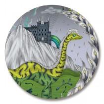 Buy the Jamida Emma J Shipley Highlandia Chartreuse Coaster online at smithsofloughton.com