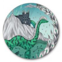 Buy the Jamida Emma J Shipley Highlandia Green Coaster online at smithsofloughton.com